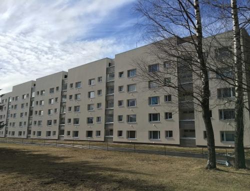 Aardla 132, Tartu – korterelamu rekonstrueerimisprojekt (KredEx)