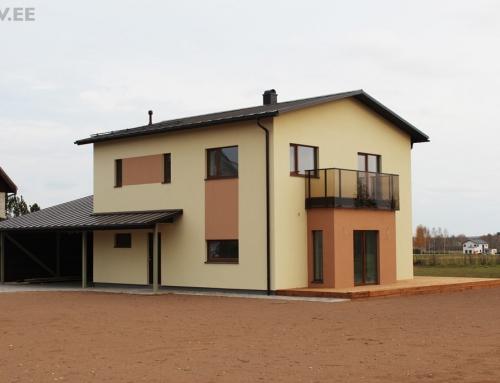 Kuslapuu, Soinaste küla, Ülenurme – eramu projekt