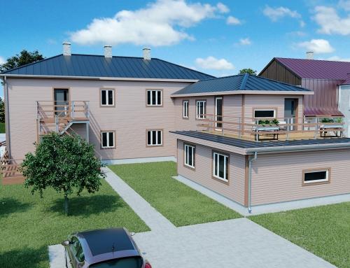 Ropka 1, Tartu – korterelamu rekonstrueerimisprojekt