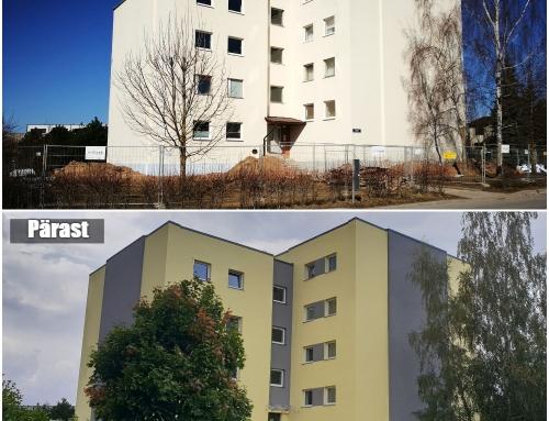 Savi 31, Tartu – korterelamu rekonstrueerimisprojekt (KredEx)