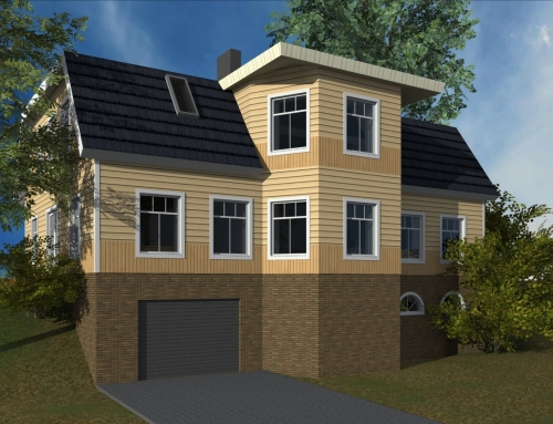 Rõuge – elamu ehitusprojekt