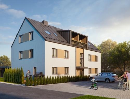Kivi 61, Tartu – korterelamu ehitusprojekt